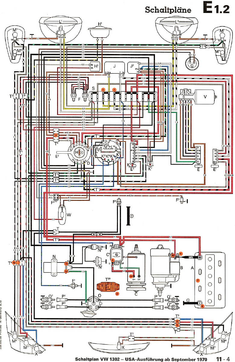 schematics 70 vw bug wiring diagram 70 image wiring 1970 vw beetle wiring problems besides vw tech article 1960 61 wiring diagram besides similiar