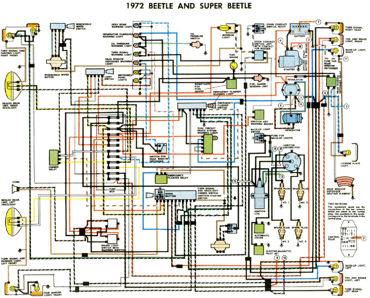 1983 Porsche Headlight Switch Schematic Data Schema Chevy Dimmer Wiring Diagram K U00e4fer Schaltpl U00e4ne 57 1993 Ford