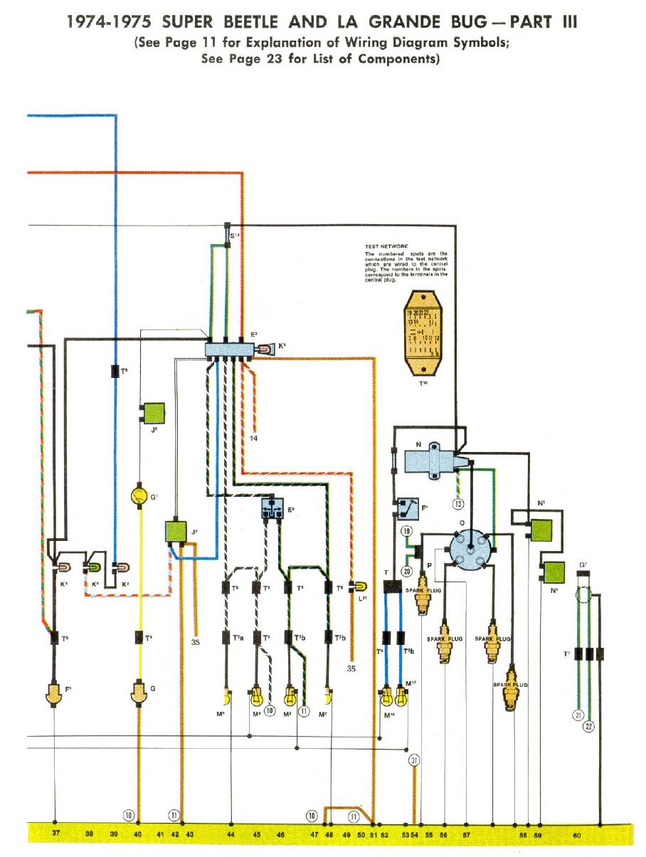 Kfer Schaltplne 1975 Super Beetle Wiring Diagram