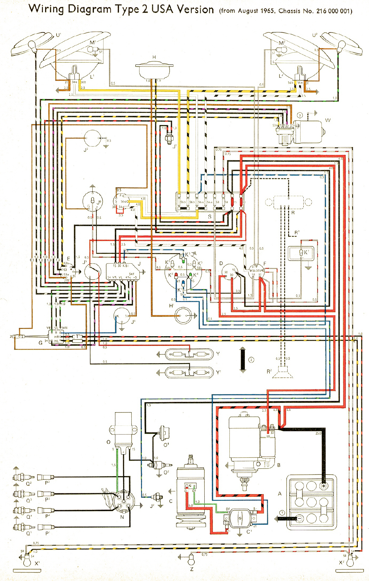 76 Vw Bus Wiring Diagram Another Blog About Engine 1974 Camper For
