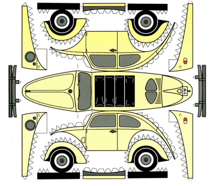 vw cartoon pictures